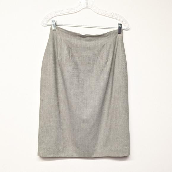 Austin Reed Skirts Gray Wool Skirt Poshmark